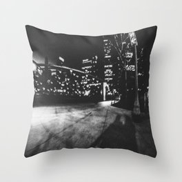 Love in Chicago Throw Pillow