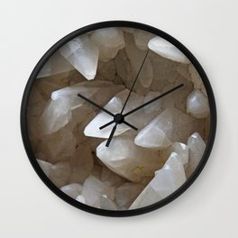 Crystal Cave Wall Clock