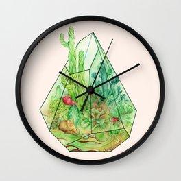 DeserTerrarium Wall Clock