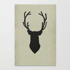 Le cerf my deer. Canvas Print