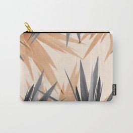 Orange Tropics Carry-All Pouch
