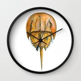 Brown Horseshoe Crab Wall Clock