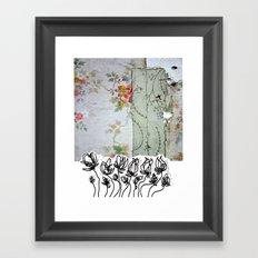 Locker room flex Framed Art Print