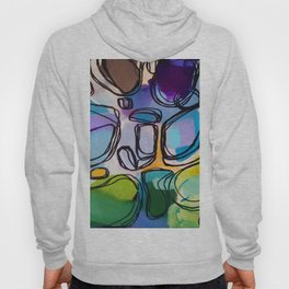 Abstract Composition 684 Hoody