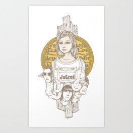 Jugend Art Print