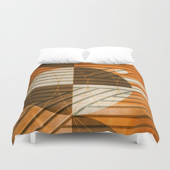 Module of Support Duvet Cover