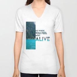 Go Feel Alive Unisex V-Neck