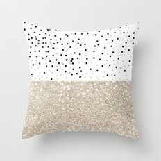 FIRST DATE NUDE  Throw Pillow