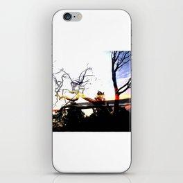 steel trees iPhone Skin