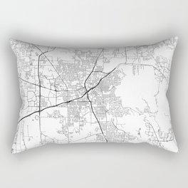 Minimal City Maps - Map Of Huntsville, Alabama, United States Rectangular Pillow