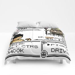 I am awaited in Viridian! Comforters