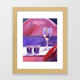 A Series of Wedding Dancer Still-Life Paintings 1. Framed Art Print