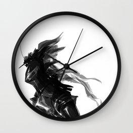 Female knight Wall Clock