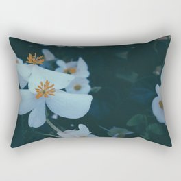 Flowers in the window 01 Rectangular Pillow
