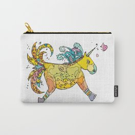 Fancy Unicorn Carry-All Pouch