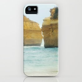 On a Collision Course iPhone Case