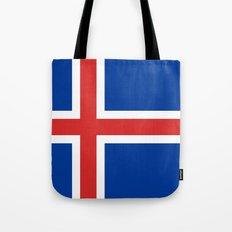 National flag of Iceland Tote Bag