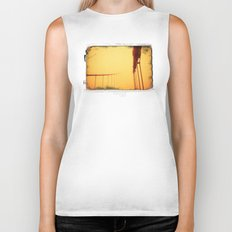 Golden - Golden Gate Bridge Biker Tank