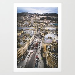 Bath Overlook Art Print