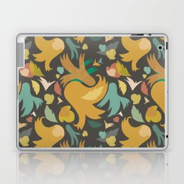 The powerful and yelow spring is coming Laptop & iPad Skin