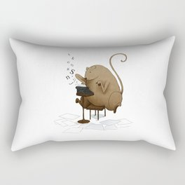 MOUSEY LETTERS Rectangular Pillow