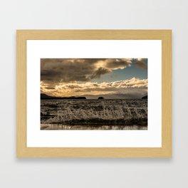 Crash Framed Art Print