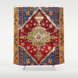 Çal Southwest Anatolian Rug Print Shower Curtain