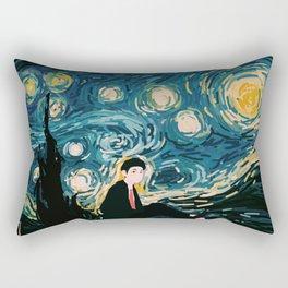 Taehyung Starry Night Rectangular Pillow
