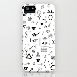 DINGBATS FY iPhone Case