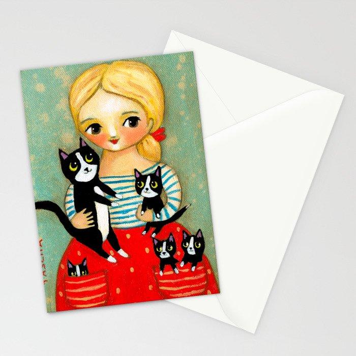 Pockets full of Kittens! Stationery Cards