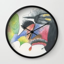 Power drill longs to express its feminine side Wall Clock