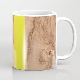 Wood Grain Stripes - Yellow #255 Coffee Mug