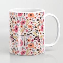 Dragonflies bloom Coffee Mug
