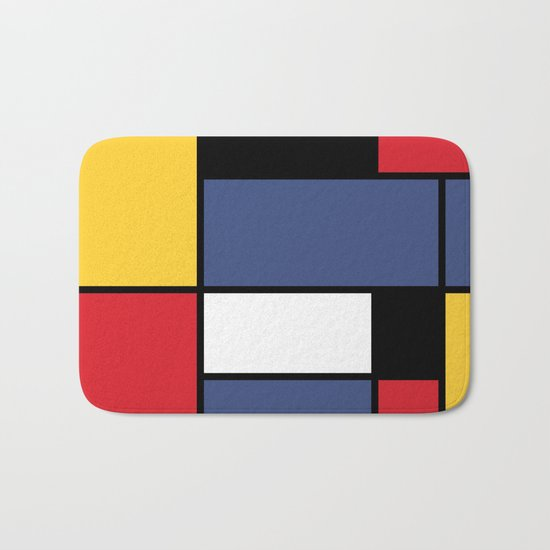 Abstraction color Bath Mat