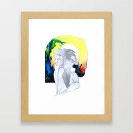 Girl/Boy Framed Art Print
