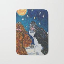 The Moon Dog Singers Bath Mat