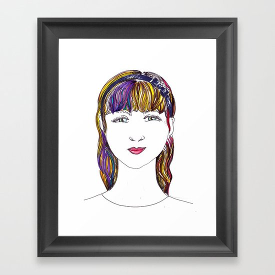 Mandy Framed Art Print