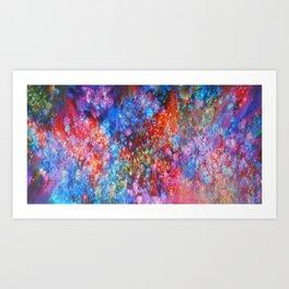 Magic Clouds Art Print