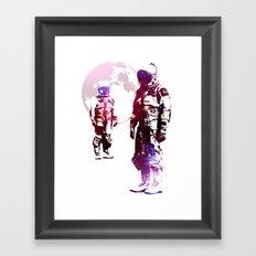 Space Men Framed Art Print