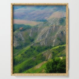 Etrurian Hills Serving Tray