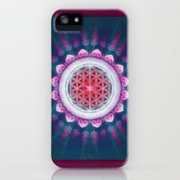 Flower Of Live - It Is Dawn iPhone Case