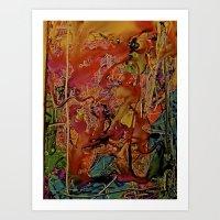 Fire Imp Art Print