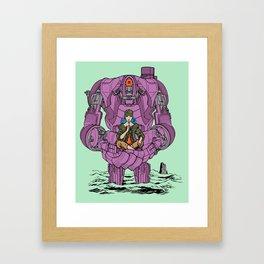 Ferryman Framed Art Print