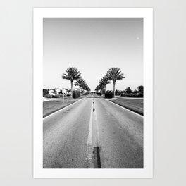 Alys Palms Art Print