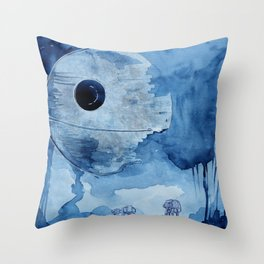 That's no moon.  Throw Pillow
