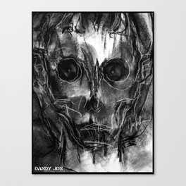 The Devil You Know Canvas Print