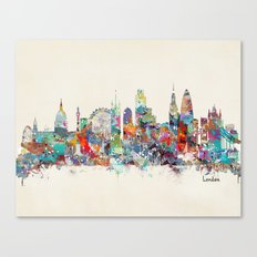 london city skyline Canvas Print