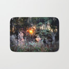 Sunset Forest : Where The Fairies Dwell Bath Mat