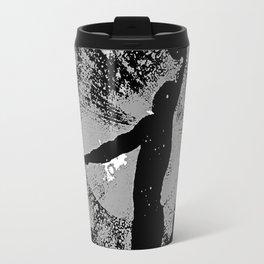 SLAM DUNK IN BLACK AND WHITE Travel Mug
