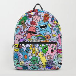 Doodles Lilac Backpack